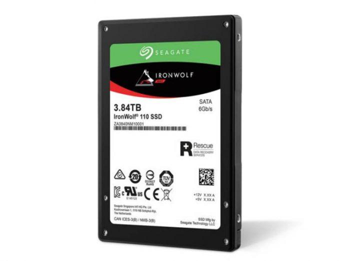 Seagate IronWolf 110 3.84TB NAS SSD