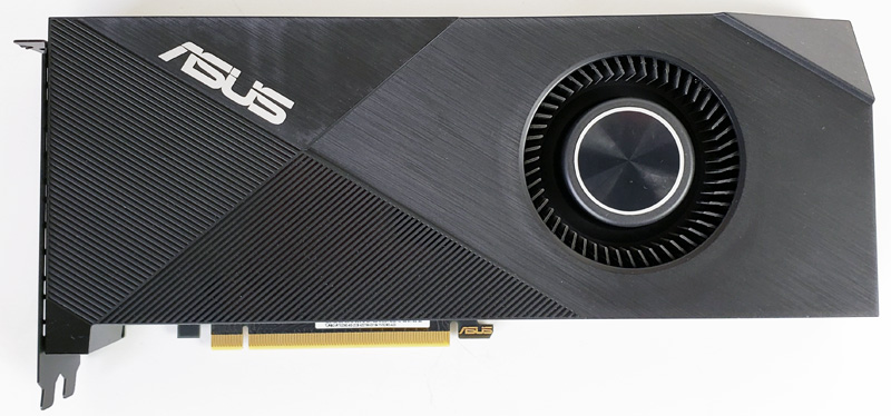 ASUS Turbo RTX2060 6G Front