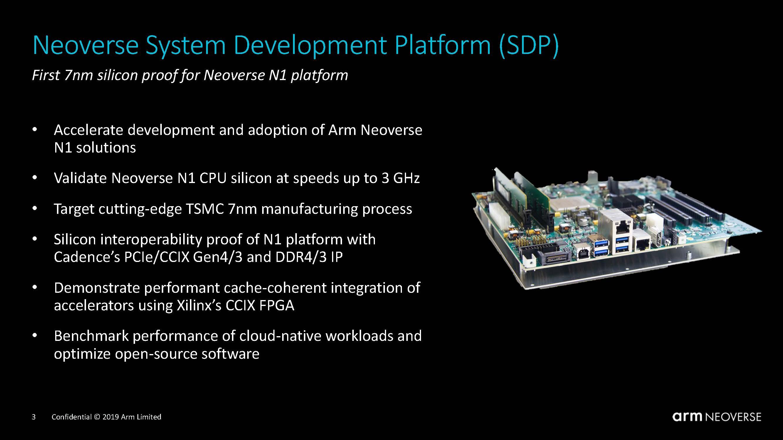 Arm Neoverse N1 System Development Platform