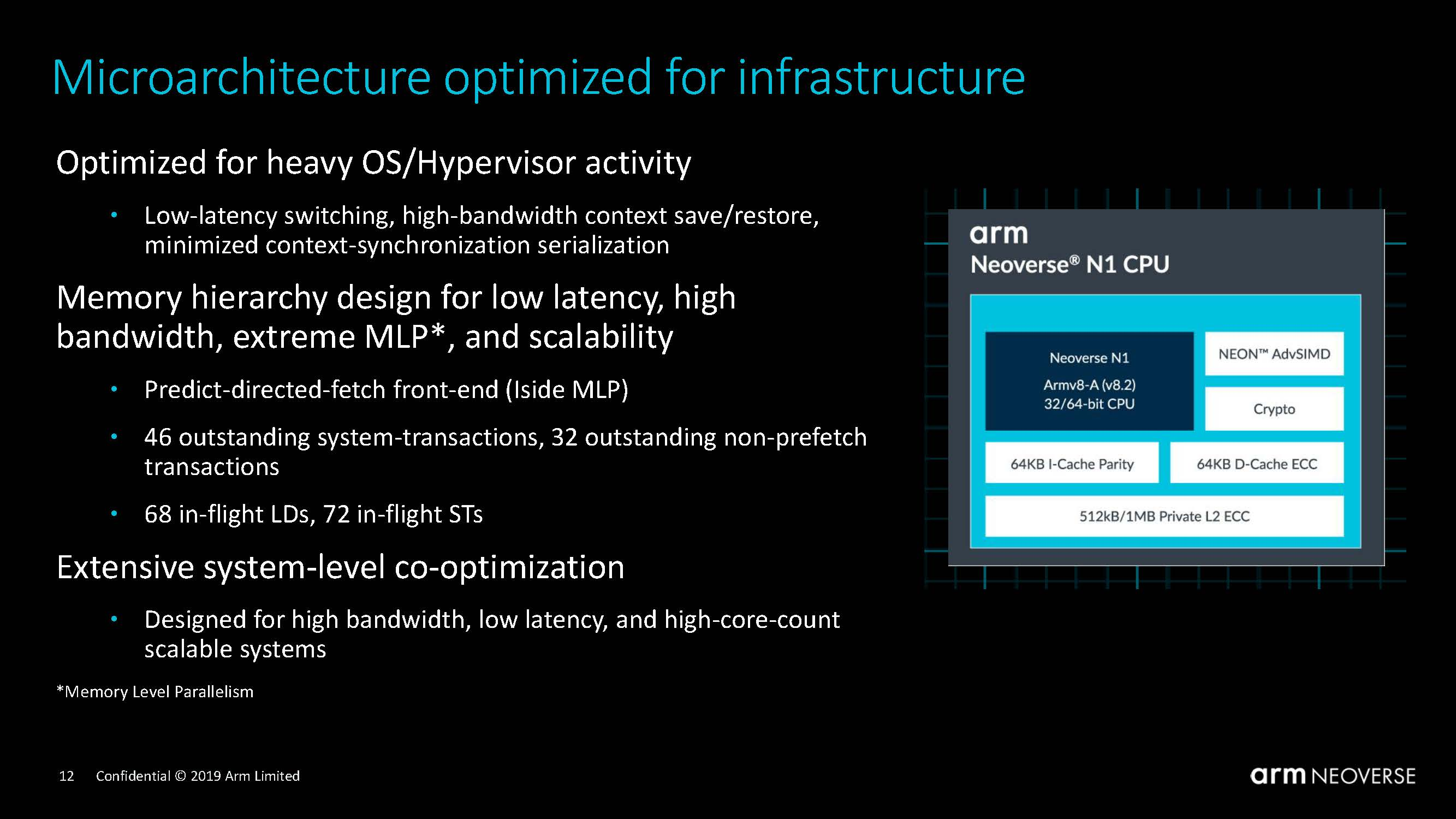 Arm Neoverse N1 Tech Day Microarchitecture 2