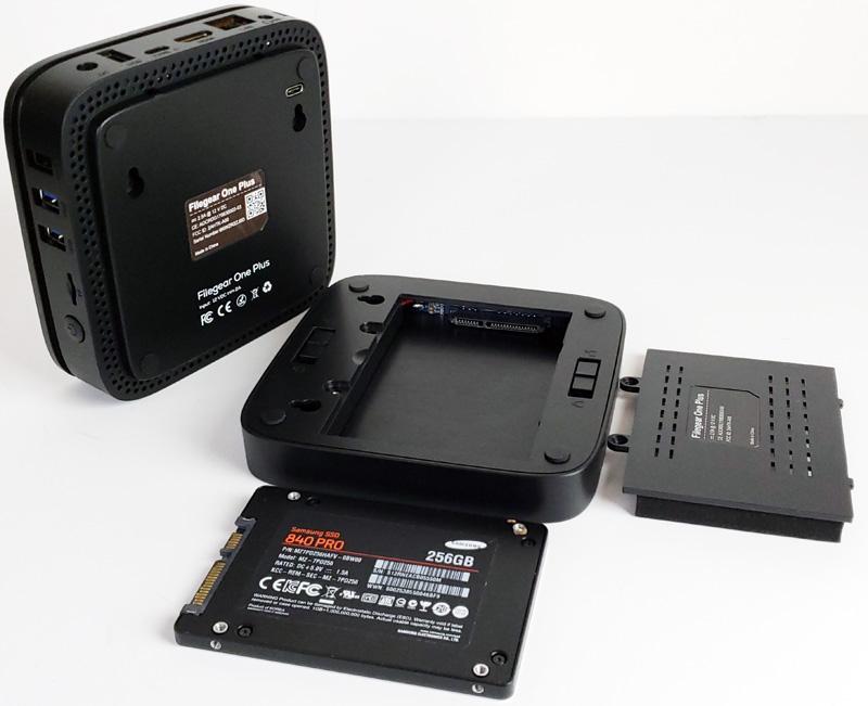 Filegear One Plus Installing SSD