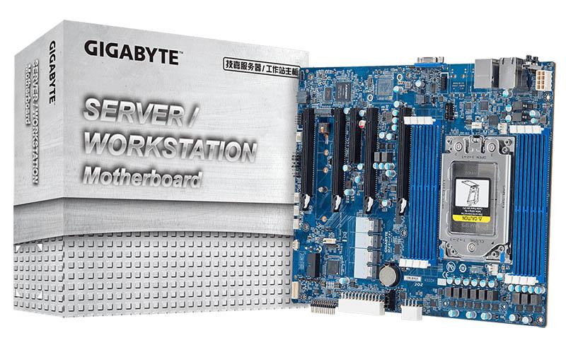 Gigabyte MZ01-CE1 Review an AMD EPYC ATX GPU Motherboard