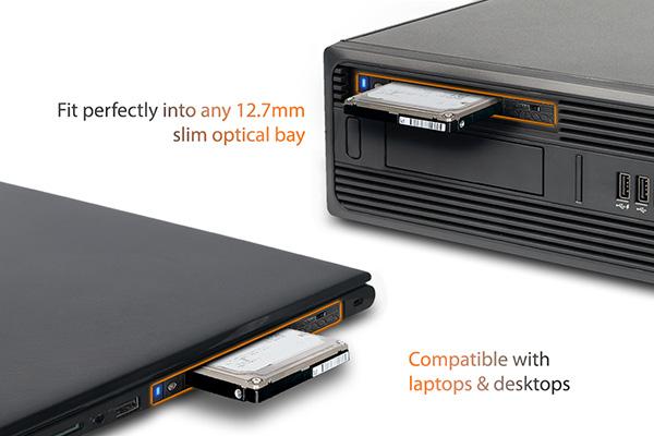 Icy Dock Ultra Slim ODD Bay Laptops And Desktops