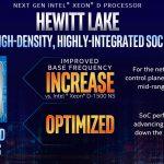 Intel Xeon D Hewitt Lake Update