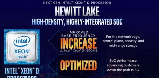 Intel Xeon D Hewitt Lake Update