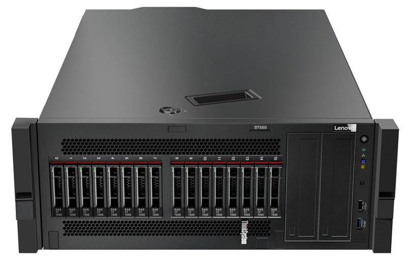 Lenovo ThinkSystem ST550 Tower Rack Mount Config
