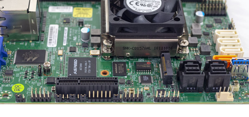 Supermicro A2SDi 8C_ HLN4F PCIe And M.2 Slot