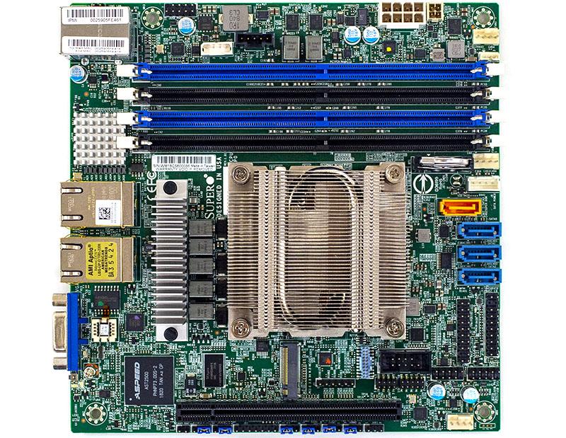 Supermicro M11SDV AMD EPYC 3000 Platform Overview Video
