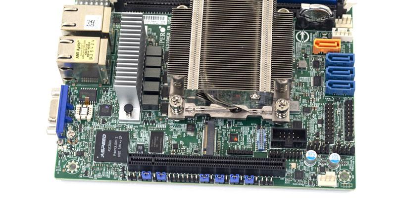 Supermicro M11SDV 8C LN4F M2 PCIe