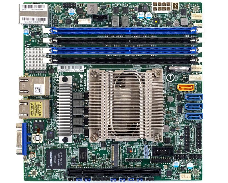 Supermicro M11SDV 8C LN4F Overview