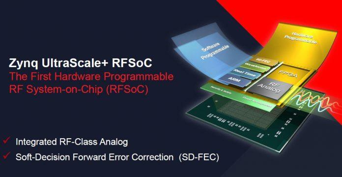 Xilinx Zynq UltraScale+ RFSOoC Cover