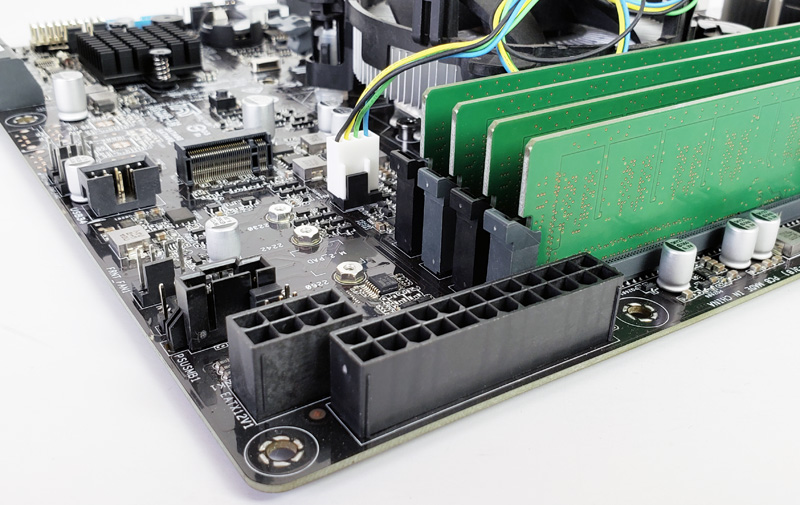 ASUS WS C246M Pro Motherboard Power Connectors - ServeTheHome
