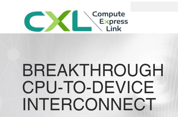 Compute Express Link CXL Announcement Cover