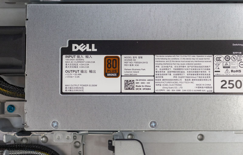 Dell EMC PowerEdge R240 Review 1U Entry Server - ServeTheHome