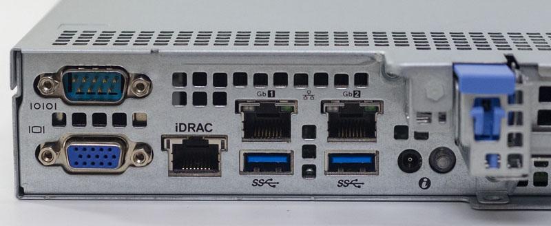 Dell EMC PowerEdge R240 Rear IO