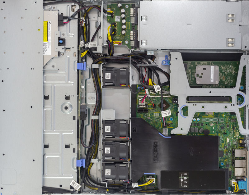 Dell EMC PowerEdge R340 Internal View
