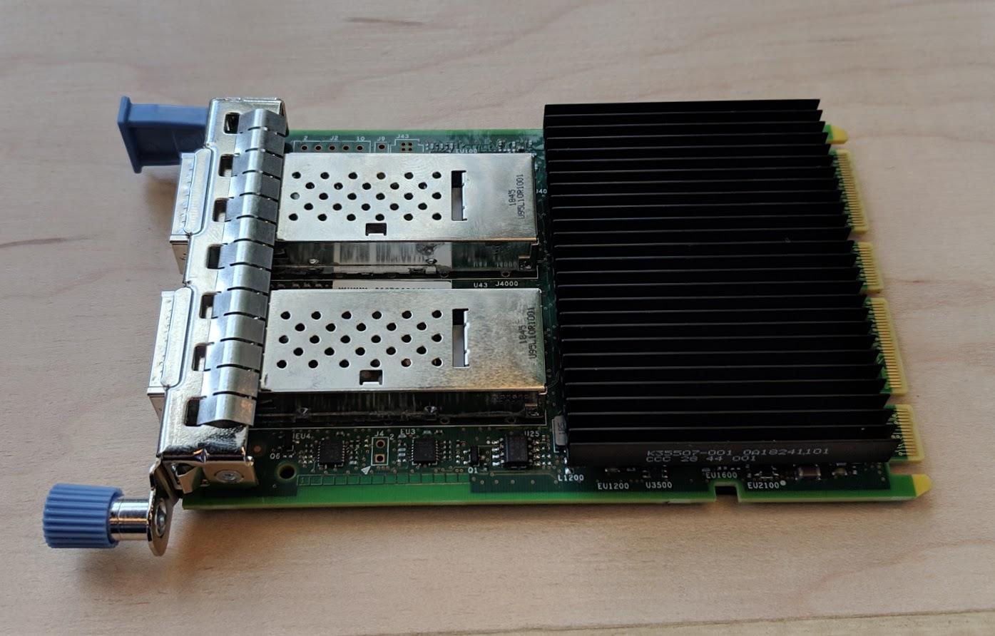 Intel 100GbE OCP 3.0 NIC
