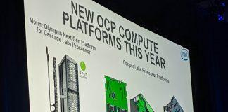 Intel Cooper Lake OCP Summit 2019
