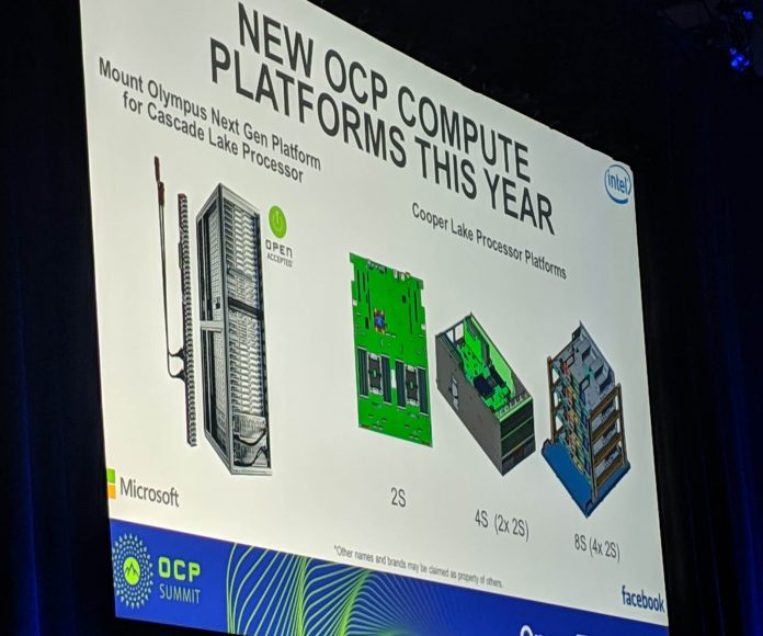 Intel Cooper Lake OCP Summit 2019