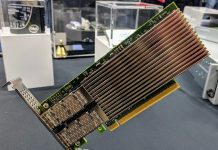 Intel Ethernet 800 100GbE PCIe NIC