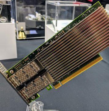 Intel Ethernet 800 100GbE PCIe NIC