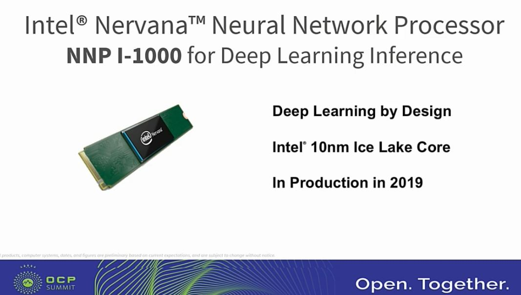 Intel NNP I 1000 At OCP Summit 2019