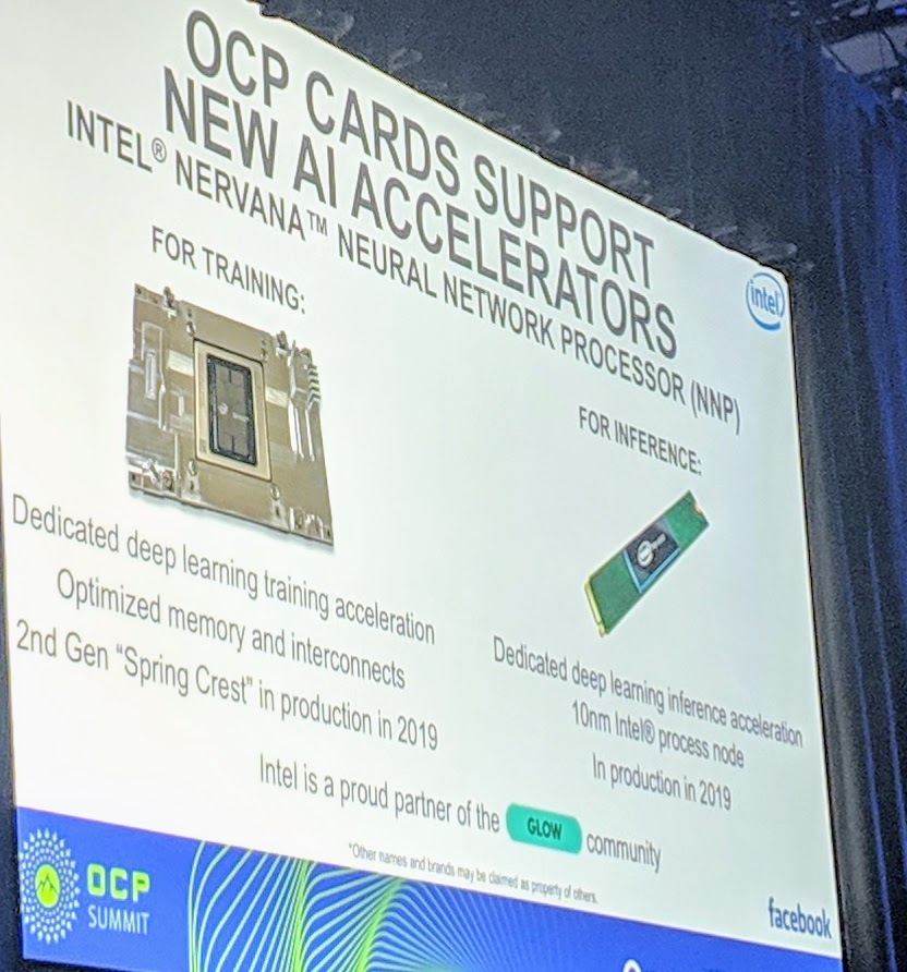 Intel NNP At OCP Summit 2019