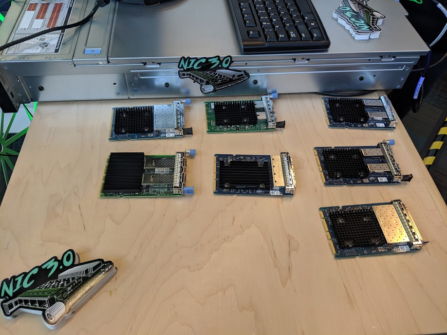 New Intel 100GbE Adapters Shown and Demonstrated - ServeTheHome