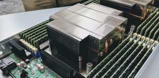 Intel Server System 9200WK 2U Air Cooled Node CPU Heatsink Cover