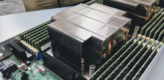 Intel Server System 9200WK 2U Air Cooled Node CPU Heatsink Cover