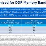Intel Xeon Platinum 9200 DDR4 Bandwidth
