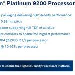 Intel Xeon Platinum 9200 Processor Package