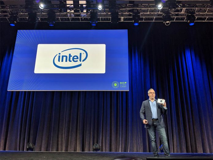 Jason Waxman Intel OCP Summit 2019 Keynote