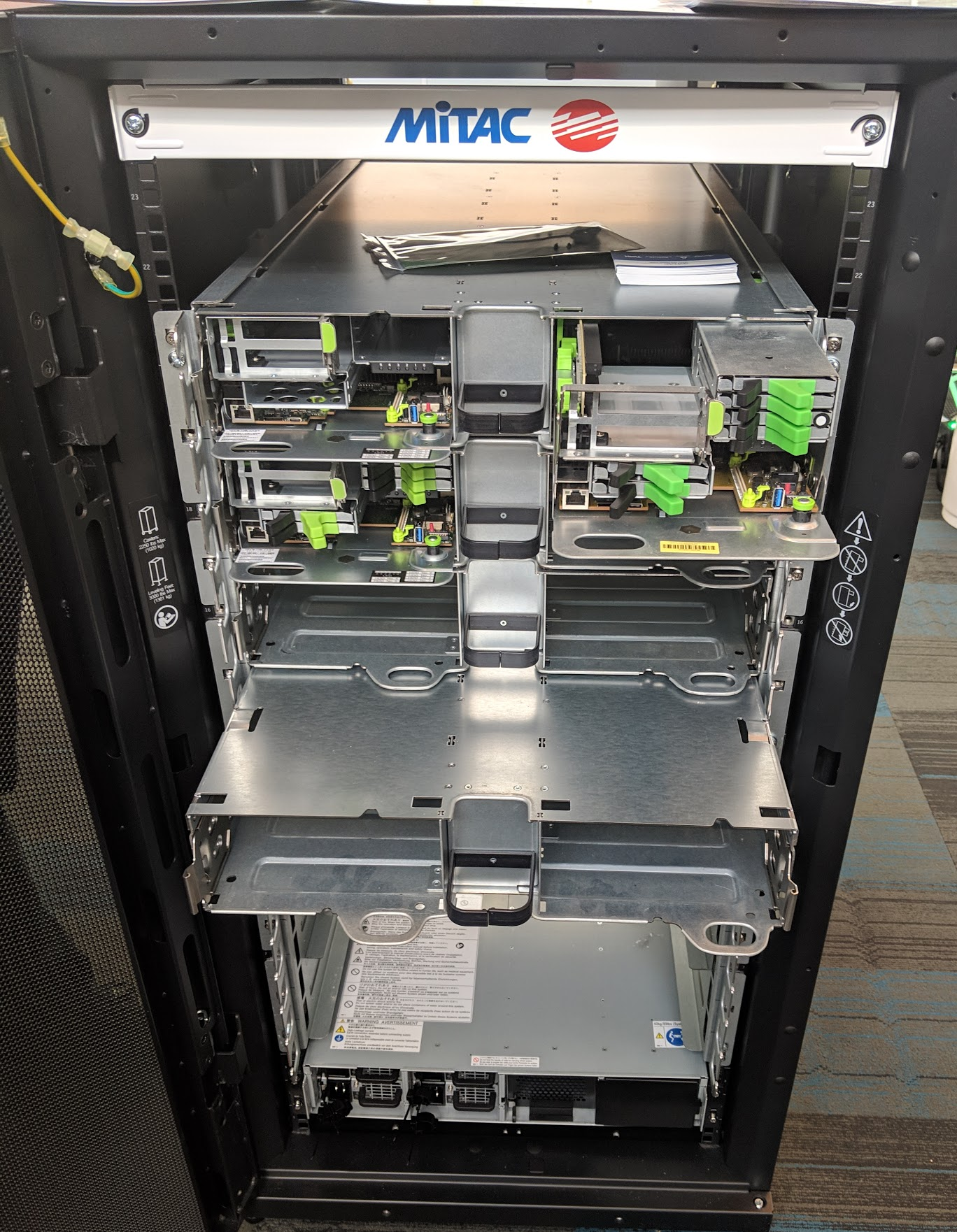 MiTAC ESA V1 OCP To 19 In Rack