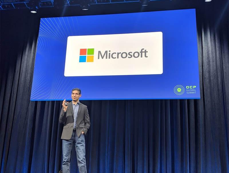 Microsoft OCP Keynote on Denali and Project Zipline