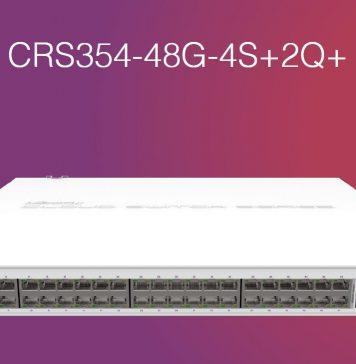 MikroTik CRS354 48G 4S_2Q Switch