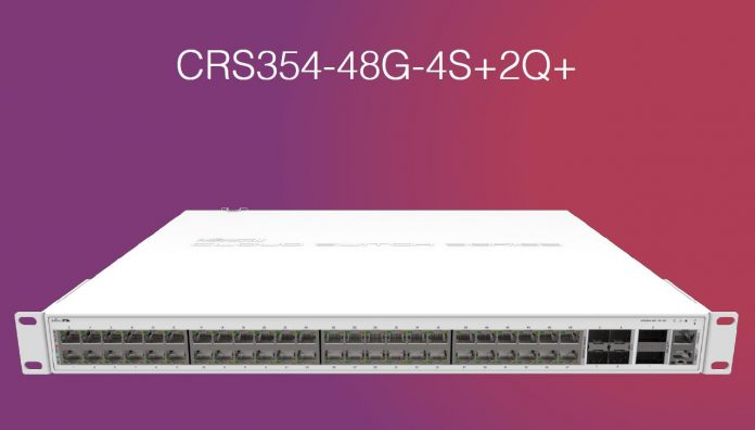 MikroTik CRS354 48G 4S_2Q Switch
