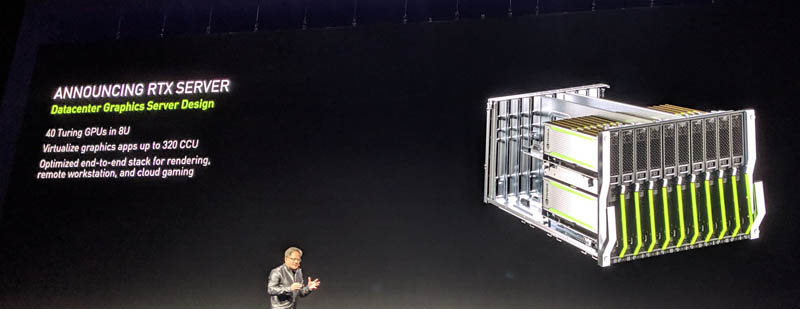 NVIDIA RTX Server and RTX Server Pod Announced at GTC 2019