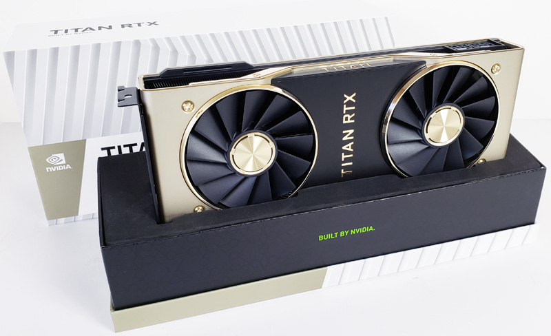 Nvidia Titan RTX Box Open