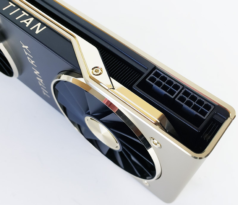 Nvidia Titan RTX Power Connectors