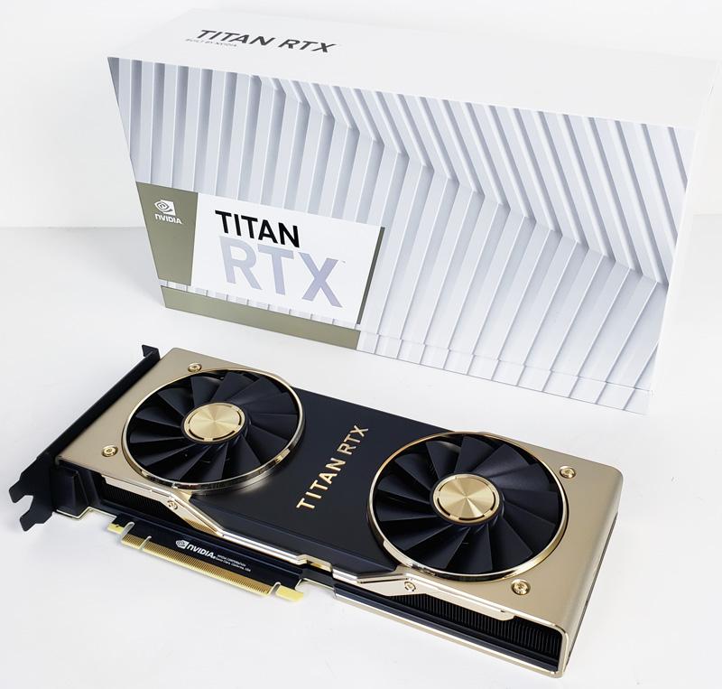 NVIDIA Titan RTX Review of an Incredible GPU - ServeTheHome
