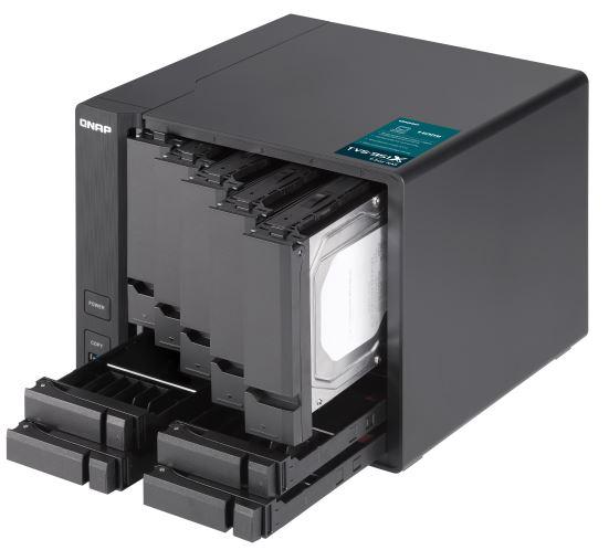 QNAP TVS 951X Installing Drives