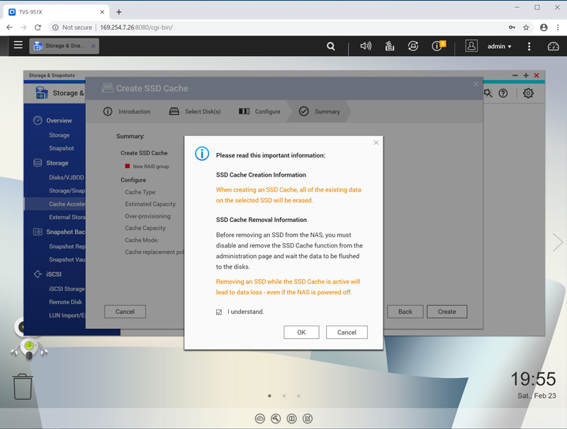 QNAP TVS 951X SSD Profilng Tool 9
