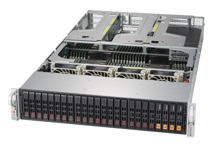 Supermicro SYS 2049U TR4 Front