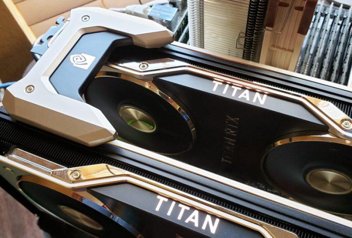 2x NVIDIA Titan RTX Running