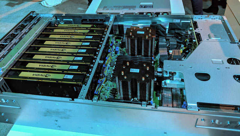 Dell EMC DSS 8440 10x GPU 4U Server Launched - ServeTheHome