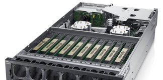 Dell EMC DSS 8440 Front Three Quarter