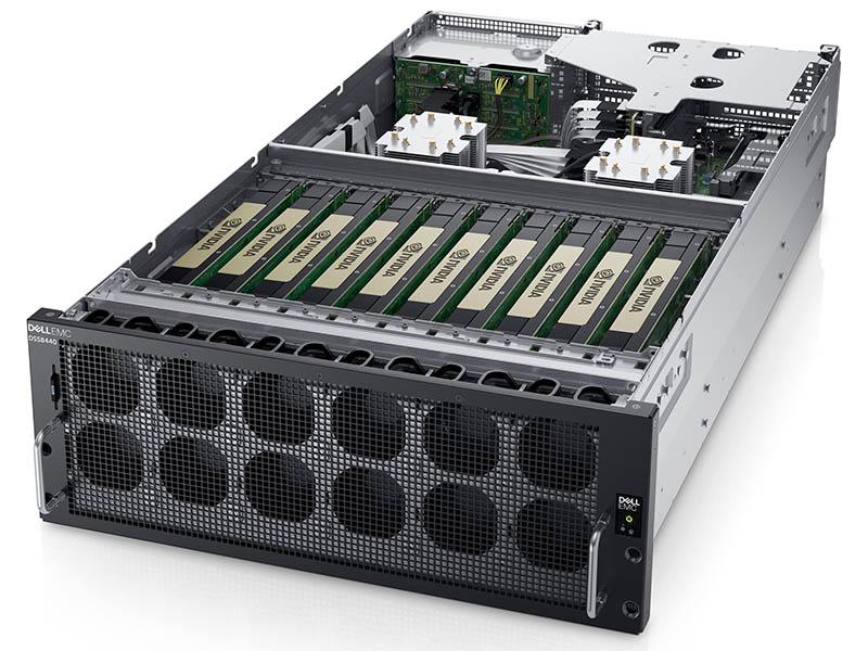 Dell EMC DSS 8440 Front Three Quarter