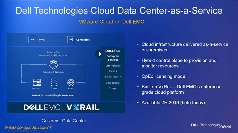Dell Technologies World 2019 Cloud Platform 4