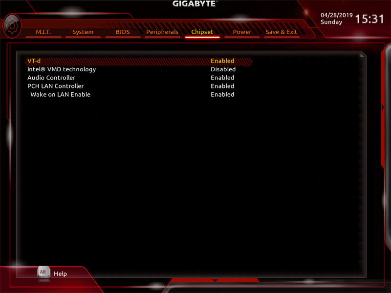 Gigabyte X299 AORUS Master BIOS 6